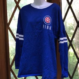 VS PINK Chicago Cubs long sleeve large